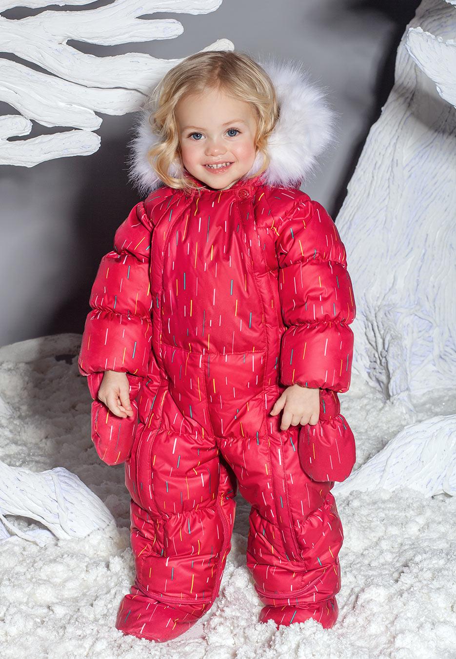 Зимний детский Комбинезон-трансформер OLDOS ДождикДетские комбинезоны<br>Комбинезон Дождик с утеплителем из искусственного лебяжьего пуха позаботится о комфорте маленького ребенка на зимней прогулке даже в очень морозный и ветреный день.<br><br>Размер: 80, 86, 68, 74<br>Цвет: малиновый