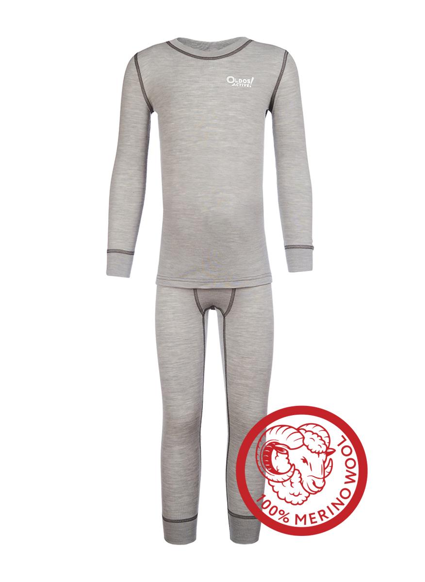 Комплект из шерсти мереноса для мальчика