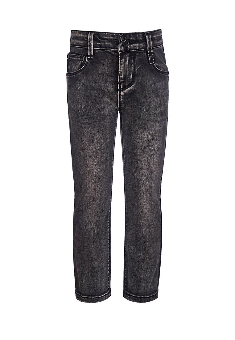 Купить Брюки из джинсовой ткани (Джинсы прямые) для мальчика Бонд , OLDOS, ЧЕРНЫЙ, 98, 104, 110, 116, 122, 128, 134, 140, 146, 152