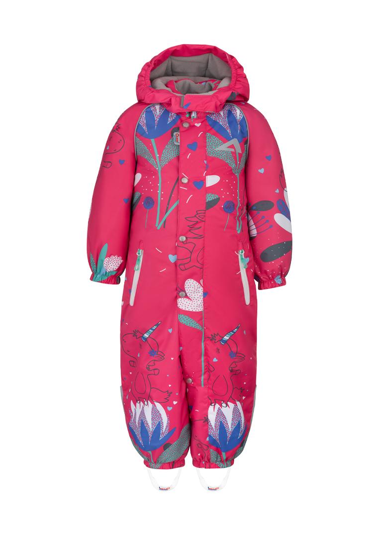 Купить Комбинезон утепленный для девочки Кейт , OLDOS ACTIVE, 104, 74, 80, 86, 92, 98