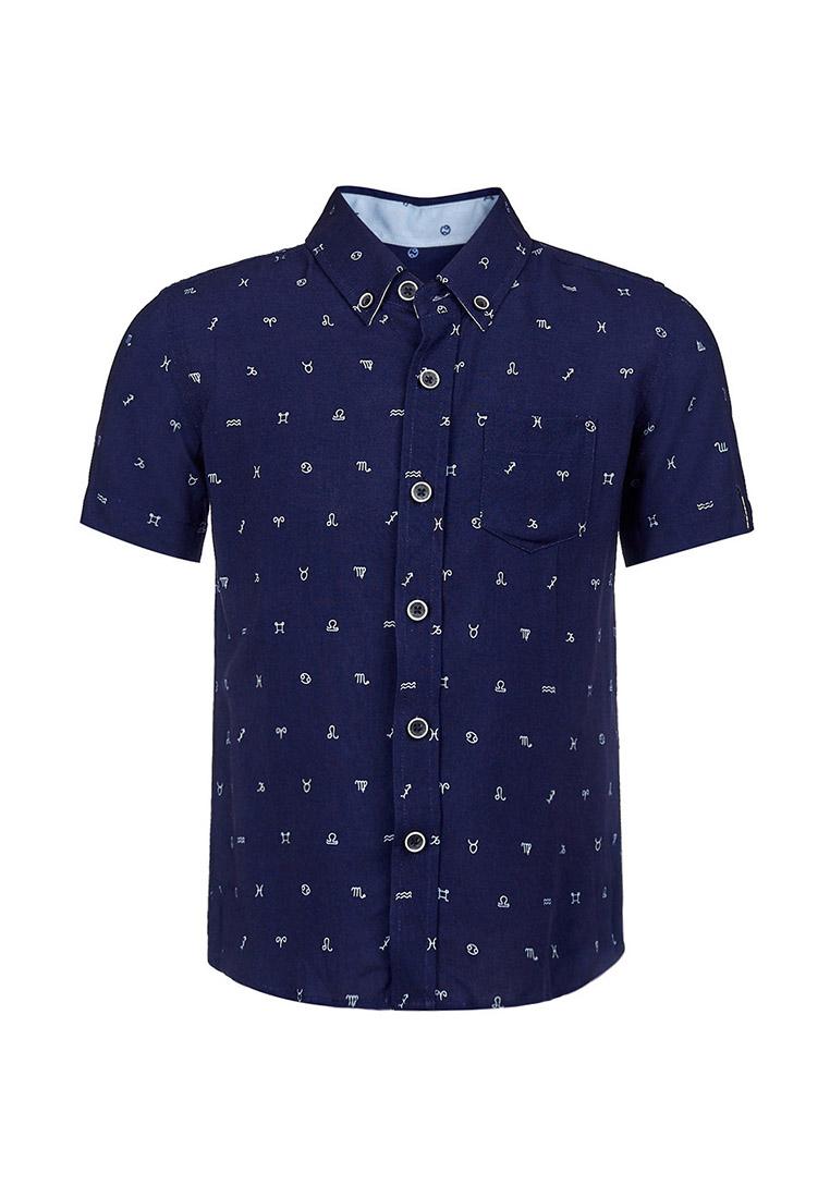 Купить Рубашка с коротким рукавом для мальчика Бобби , OLDOS, СИНИЙ, 98, 104, 110, 116, 122, 128, 134, 140, 146, 152