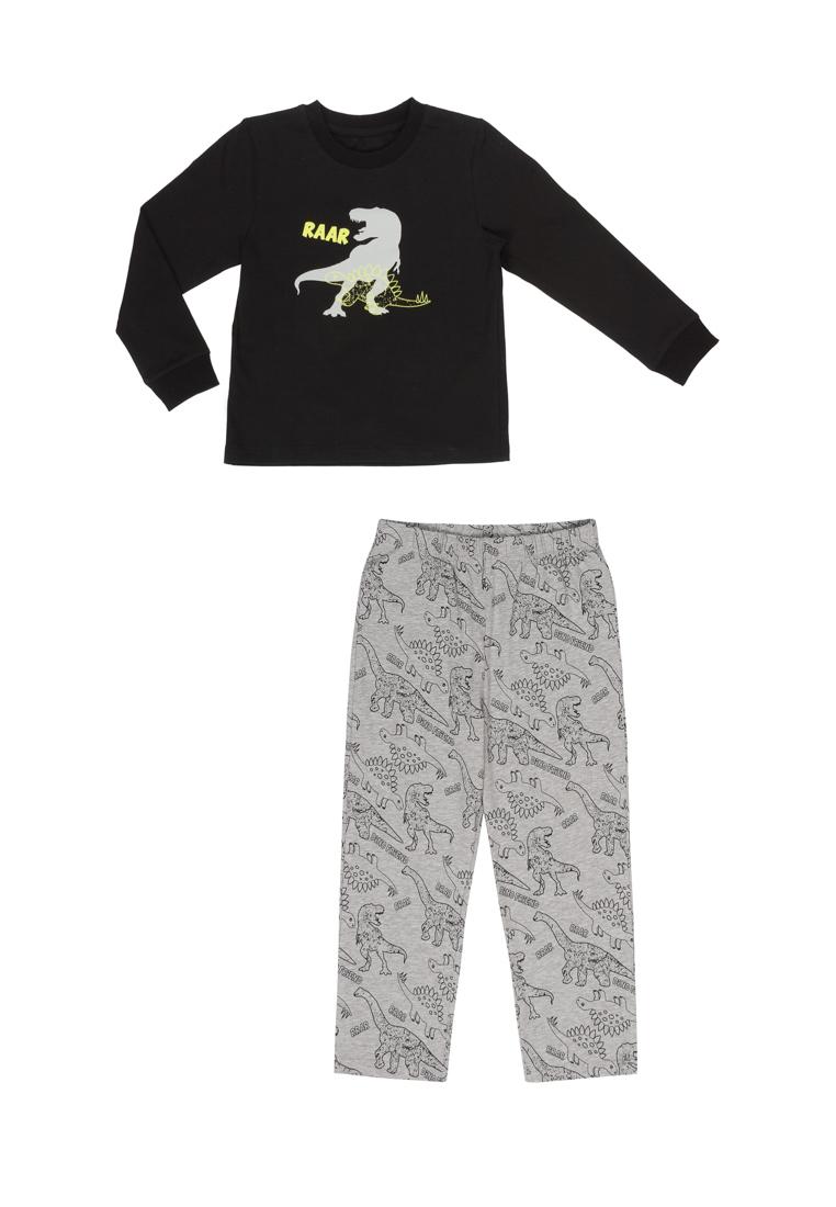 Купить Пижама для мальчика, футболка с длинным рукавом и брюки Дарли , OLDOS, 104, 110, 116, 122, 128, 134, 140, 98