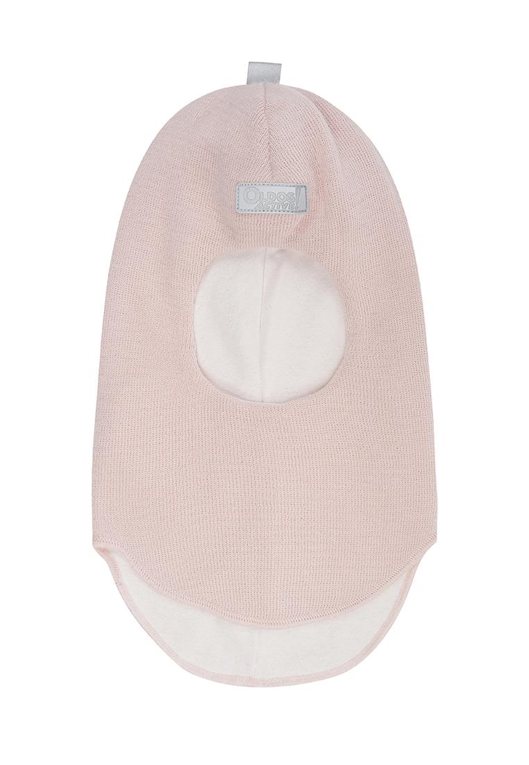 Шапка-шлем без утеплителя для девочки