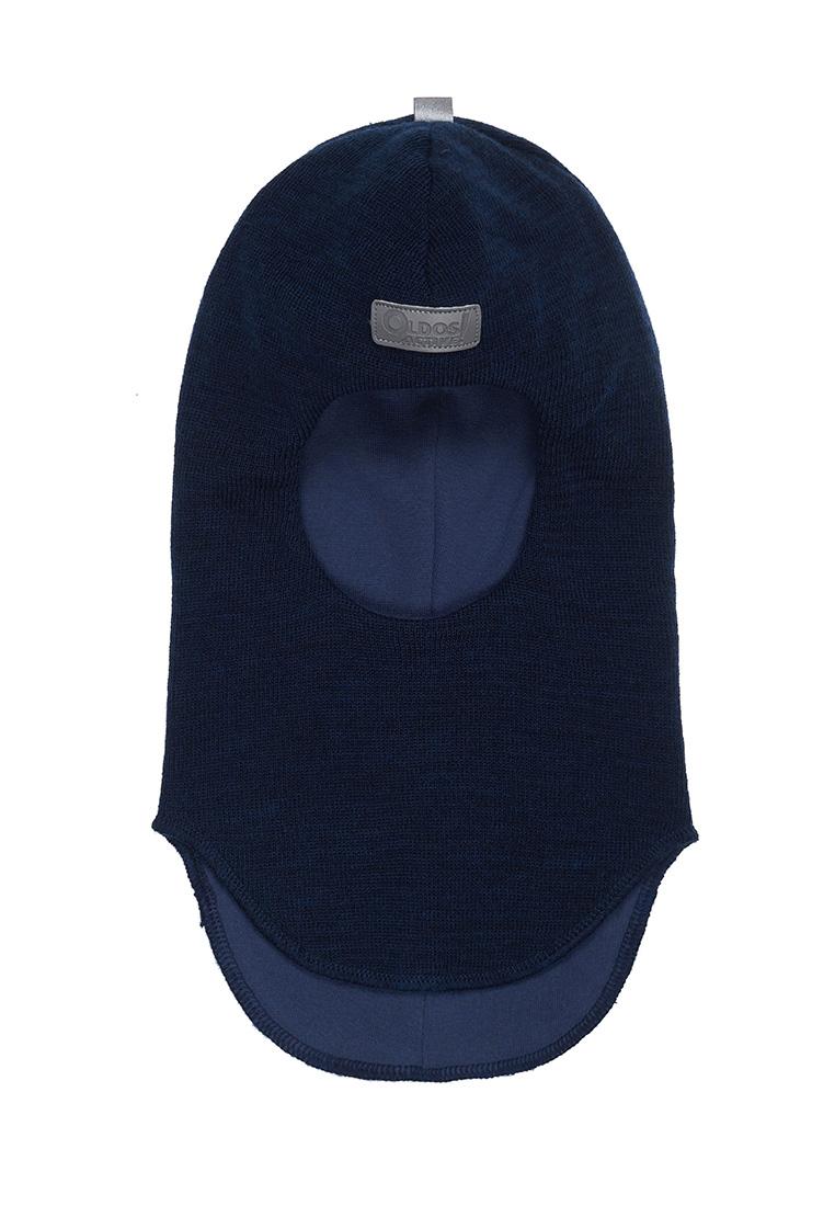 Шапка-шлем без утеплителя для мальчика