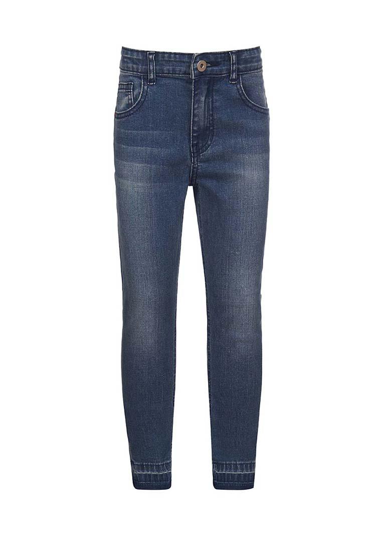 Купить Брюки из джинсовой ткани (Джинсы зауженные) для девочки Линет , OLDOS, ГОЛУБОЙ, 98, 104, 116, 122, 128, 134, 140, 146, 152, 110