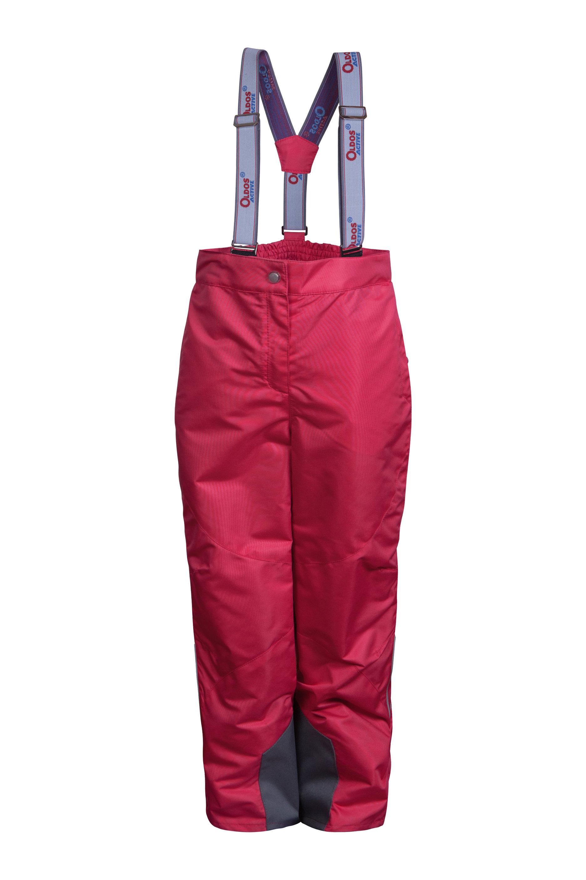 Брюки демисезонные OLDOS ACTIVE для девочки МАРТАДетские брюки<br>В удобных брюках из плотной мембранной ткани с водо- грязеотталкивающим покрытием Марта из коллекции OLDOS ACTIVE Ваша непоседа сможет пускать кораблики по лужам, не боясь промокнуть или испачкаться.<br><br>Размер: 86, 92, 98, 104, 110, 116, 122, 128, 134, 140<br>Цвет: Малиновый